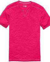 INC International Concepts T Shirt, Monte Split Neck Tee