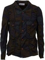 Kolor printed cargo jacket - men - Cotton/Nylon/Polyurethane - 4