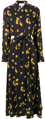 3.1 Phillip Lim Cerise Print Shirt Dress