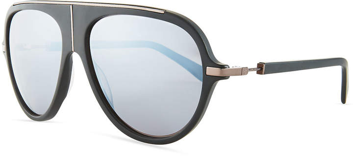 Balmain Acetate Aviator Sunglasses