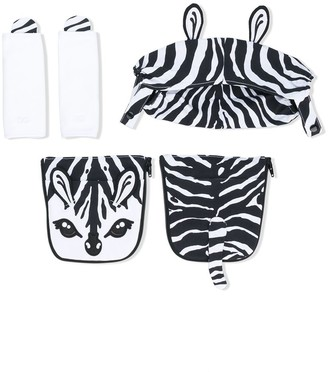 Dolce & Gabbana zebra baby carrier covers