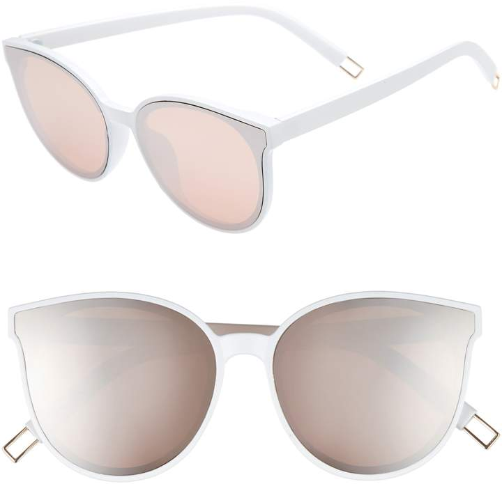 BP 59mm Metal Tip Round Sunglasses