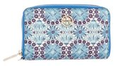 Tory Burch Floral Continental Wallet