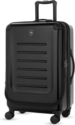 Victorinox Black Spectra 2.0 Expandable Four-Wheel Suitcase, Size: 69cm