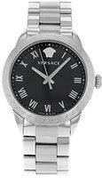 Versace Women's P6Q99FD008 S099 Pair Analog Display Quartz Silver-Tone Watch