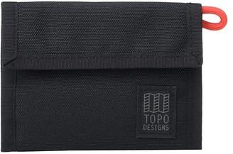Topo Designs Tri-Fold Wallet (Black) Wallet Handbags
