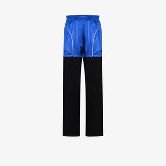 Balenciaga Patch colour block sweatpants