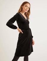 Ellie Velvet Wrap Dress
