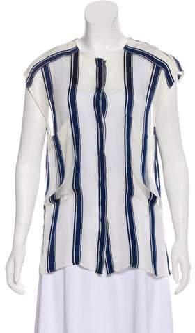 da5c6b7b3 Chloé Blue Women's Tops - ShopStyle