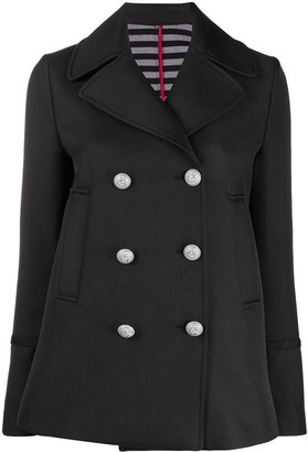Pinko Double-Breasted Fitted Jacket