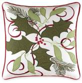 Bed Bath & Beyond Holiday Garland Embroidered Throw Pillow