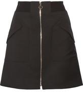 Tim Coppens Wool-Twill Mini Skirt