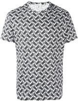 Salvatore Ferragamo motorcycle print T-shirt - men - Cotton - S