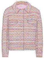 Nina Ricci Cropped Tweed Jacket
