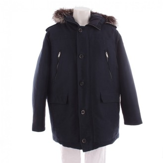 Michael Kors Blue Cotton Coat for Women
