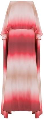 AMIR SLAMA Long Silk Skirt