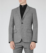 Reiss Walsh Mottled Modern Blazer