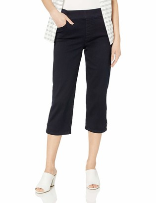Gloria Vanderbilt Women's Petite Avery Pull On Capri