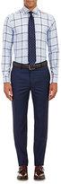 Etro MEN'S GLEN PLAID JACQUARD DRESS SHIRT-BLUE SIZE 15.5