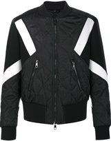 Neil Barrett quilted bomber jacket - men - Polyamide/Polyester/Viscose - L