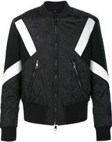 Neil Barrett quilted bomber jacket - men - Polyester/Polyamide/Viscose - L
