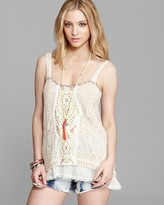 Free People Tank - Maya Yarn