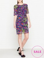 Whistles Maria Floris Print Bodycon Dress