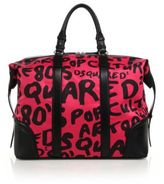 DSQUARED2 Ronald Leather Duffel Bag