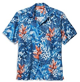 Tommy Bahama Aloha Lei IslandZone Regular Fit Camp Shirt