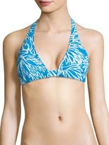 Milly Nikia Lotus Printed Bikini Top