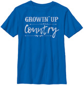 Fifth Sun Boys' Tee Shirts ROYAL - Royal 'Growin' Up Country' Tee - Boys