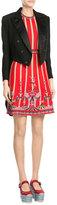M Missoni Cotton-Blend Circus Print Dress