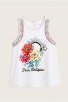 True Religion Embroided Drape Kids Tank