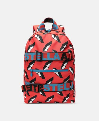 Stella Mccartney Kids Stella McCartney 3d lightning sport backpack