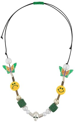 Salute Evae beaded necklace