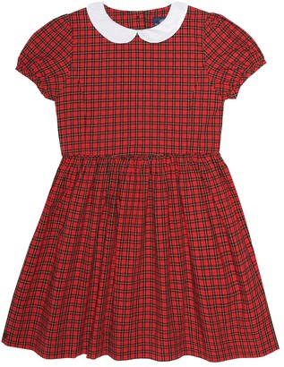 Polo Ralph Lauren Checked cotton dress