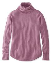 L.L. Bean Midweight Cotton Sweater, Turtleneck