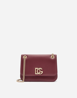 Dolce & Gabbana Nappa Leather Millennials Bag