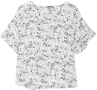 WEST KEI Knit Star Print Top (Plus Size)