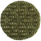 Pier 1 Imports Fuzzy Forest Green Papasan Cushion