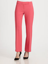 Milly Straight-Leg Pants
