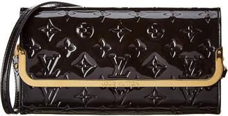 Louis Vuitton Black Monogram Vernis Leather Rossmore Mm