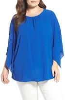 Vince Camuto Plus Size Women's Sheer Kimono Top
