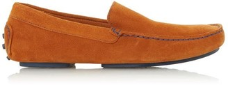 Dune London Baobab Suede Driver Loafers
