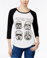Mighty Fine Star Wars Juniors' Storm Troopers Graphic Baseball T-Shirt