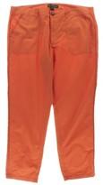 Lauren Ralph Lauren LRL Womens Cotton Flat Front Casual Pants