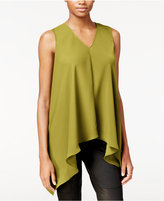 Rachel Roy Sleeveless Asymmetrical Top, Only at Macy's