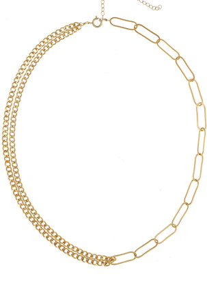 Kozakh Lilian Interlocking Double-Strand Chain Necklace