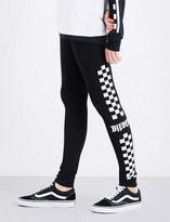 Justin Bieber Motorcycle skinny high-rise stretch-jersey leggings