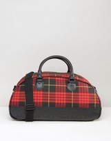 Fred Perry Tartan Holdall